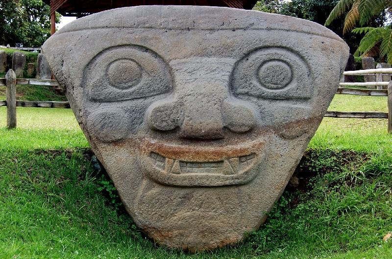 Parque Arqueológico de San Agustín, Colombia 2019.