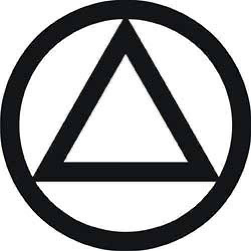 AA Triangle in Circle Logo.