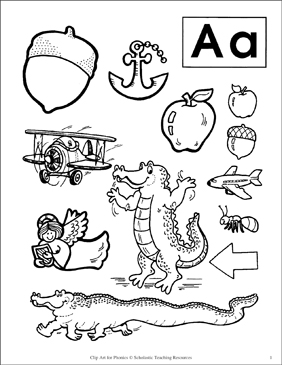 Letter aa clipart black and white 6 » Clipart Station.
