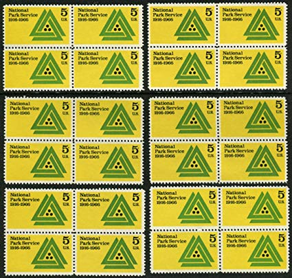 Amazon.com : National Park Service * Set of 24 postage.