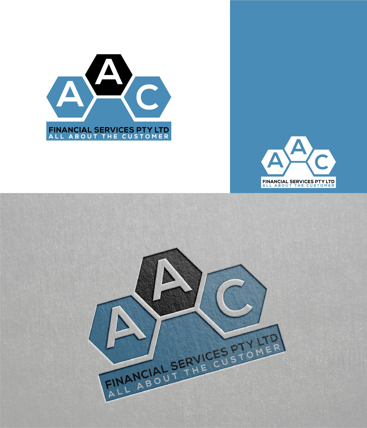 Serious, Traditional, Business Logo Design for AAC Financial.