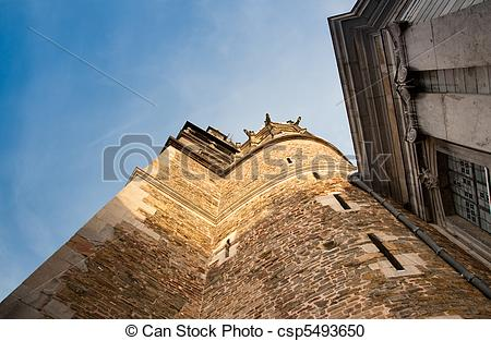 Stock Illustration of Aachen Cathedral, Germany csp5493650.