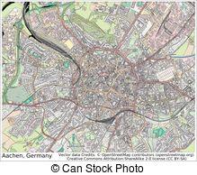 Vector Clip Art of Aachen city coa.