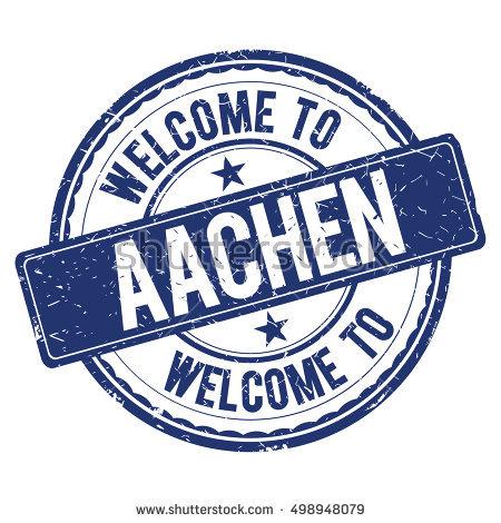 Aachen City Stock Photos, Royalty.