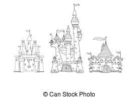 Vector Clip Art of palace, vector csp6974051.