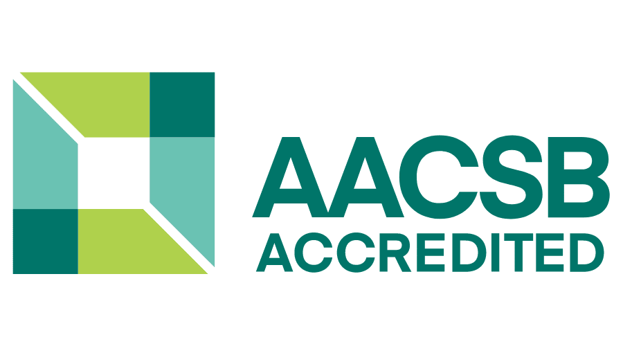 AACSB Accredited Vector Logo.
