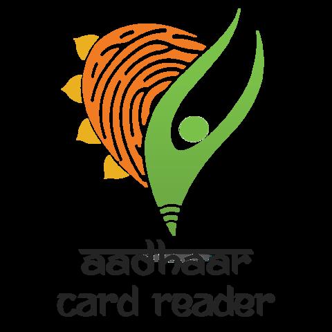 File:Aadhaar Card Reader Logo.png.