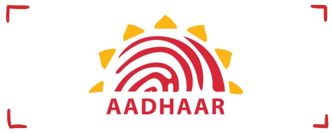 The Aadhaar Card.