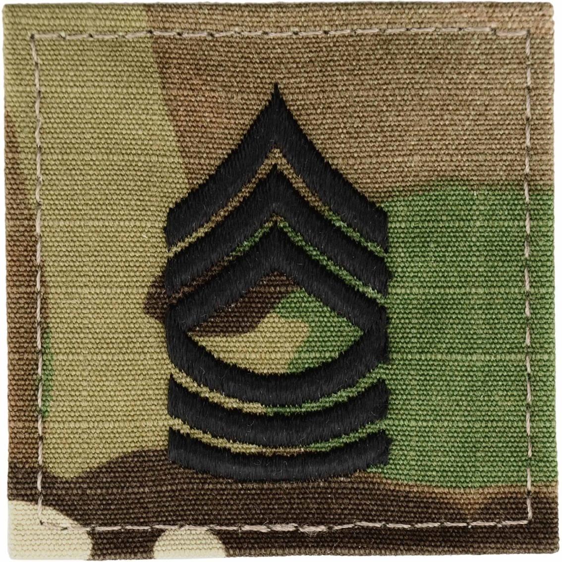 Army Rank Master Sergeant (msg) Velcro (ocp), 2 Qty Per Pkg.