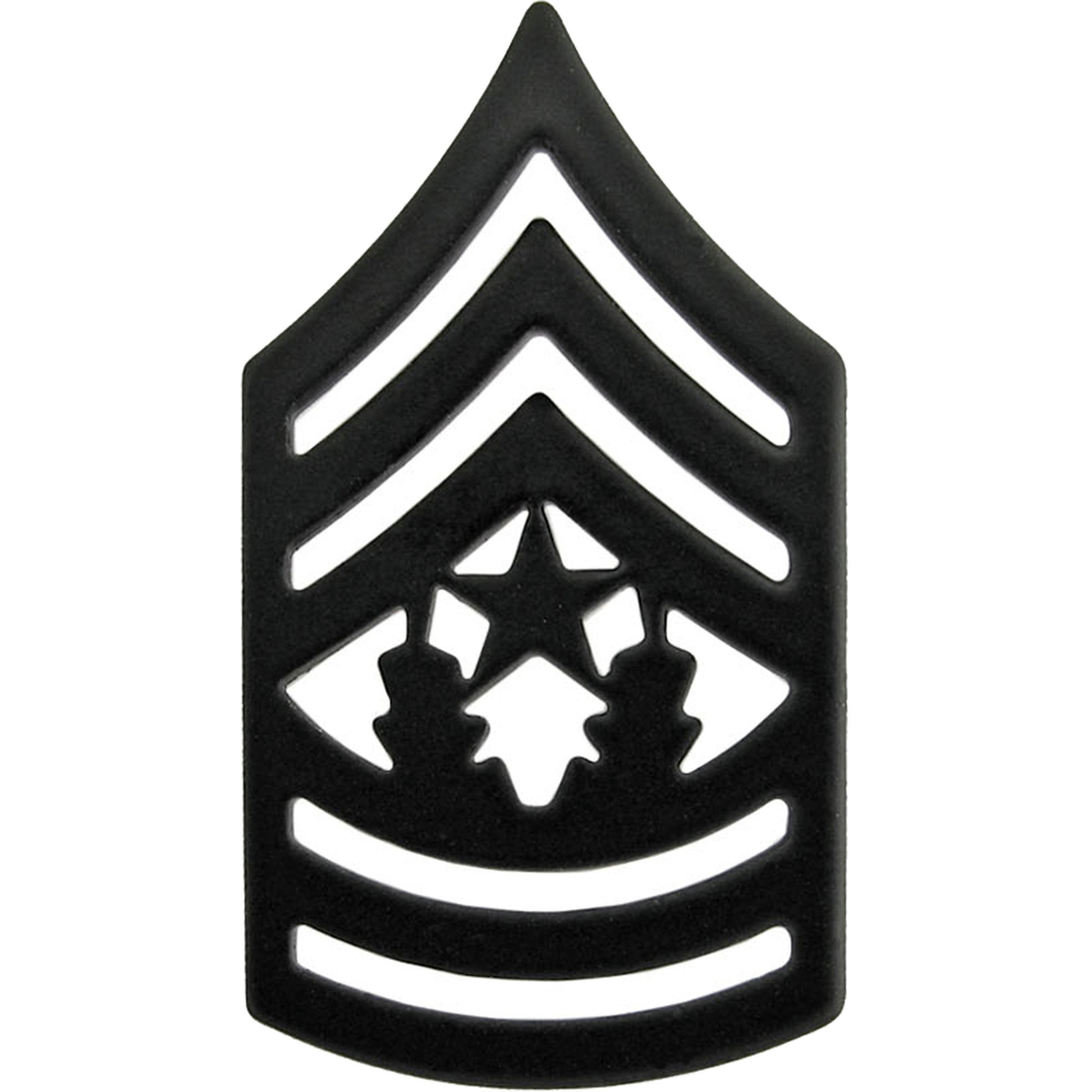 Army Csm Subdued Pin.