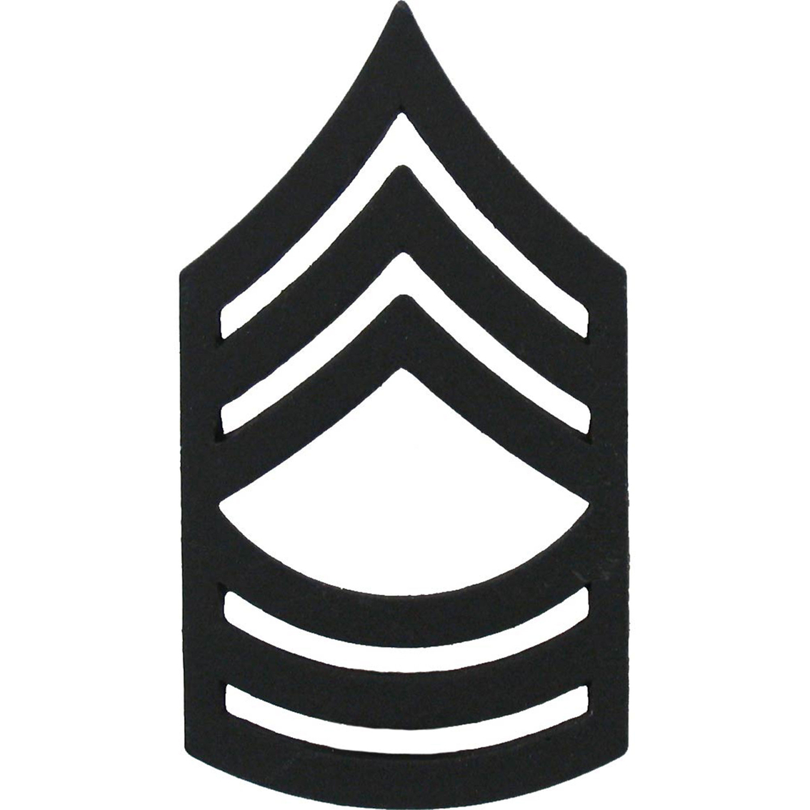 Army Msg Subdued Pin.
