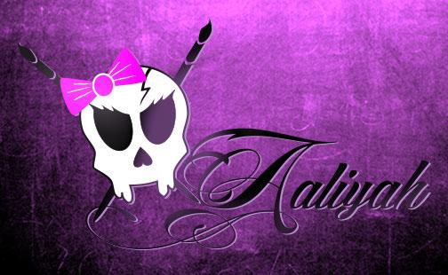 Design by Aaliyah logo on Behance.