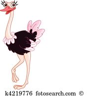 Ostrich Clip Art and Illustration. 1,441 ostrich clipart vector.