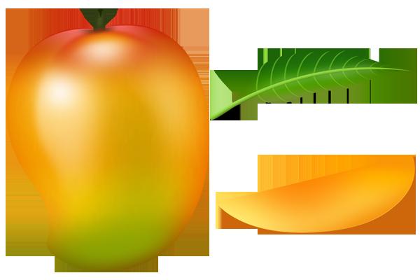 2429 Mango free clipart.