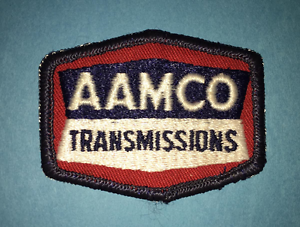 Details about Rare Vintage 1980\'s AAMCO Transmission Service Car Club  Jacket Hat Patch Crest B.