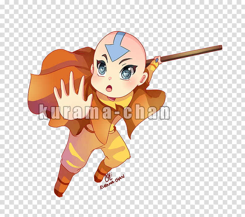 Chibi commission: Aang,.