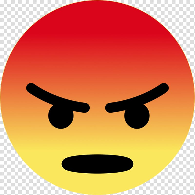 Angry emoji, Smiley Emoji Facebook Sticker Emoticon, smiley.
