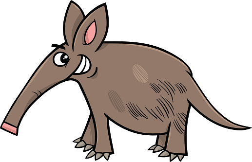 Aardvark Clip Art, Vector Images & Illustrations.