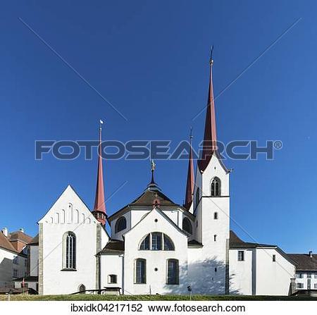 Stock Photo of Muri Abbey, Muri, Aargau Switzerland ibxidk04217152.