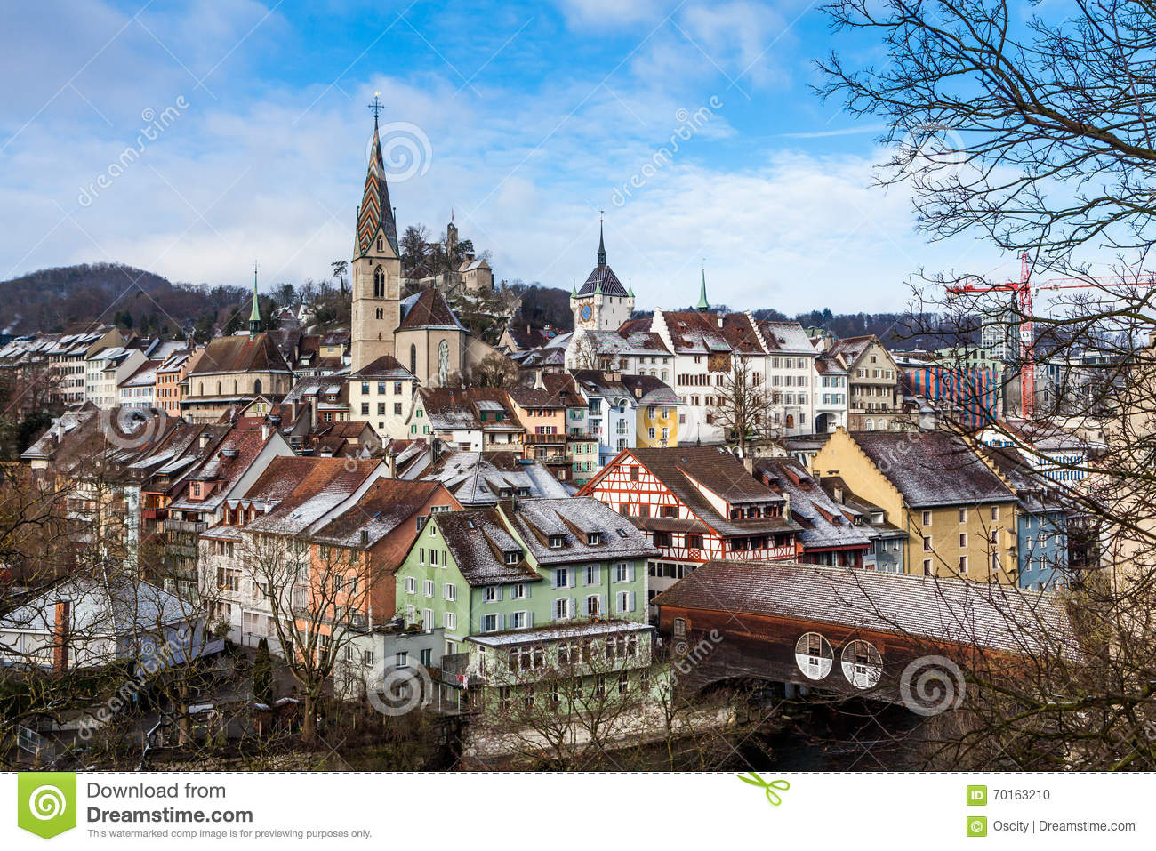 BADEN, AARGAU, SWITZERLAND stock photo. Image of ghotic.