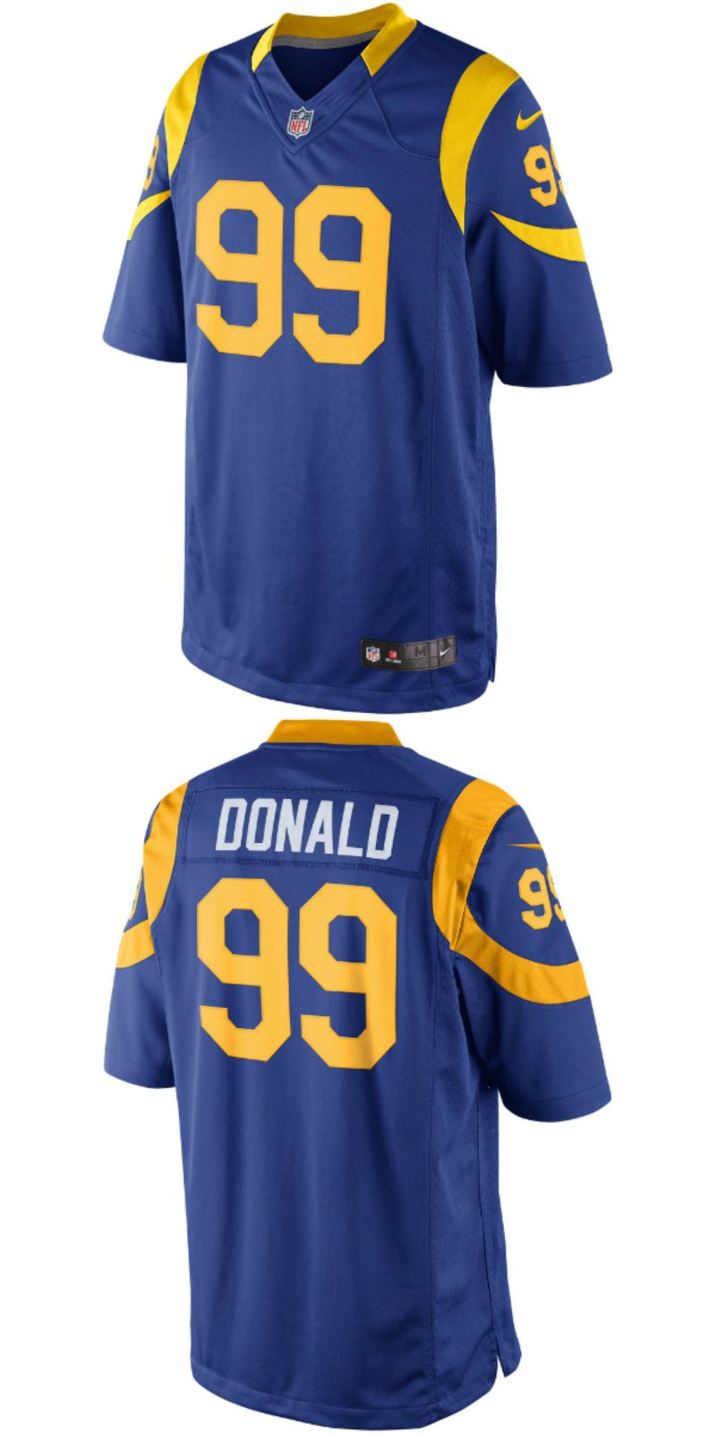 UP TO 70% OFF. Aaron Donald Los Angeles Rams Nike Limited.