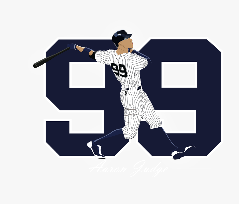Aaron Judge Clipart.