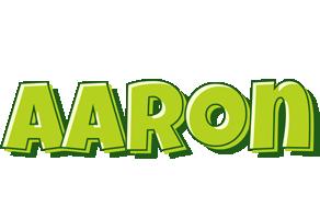 Aaron Logo.