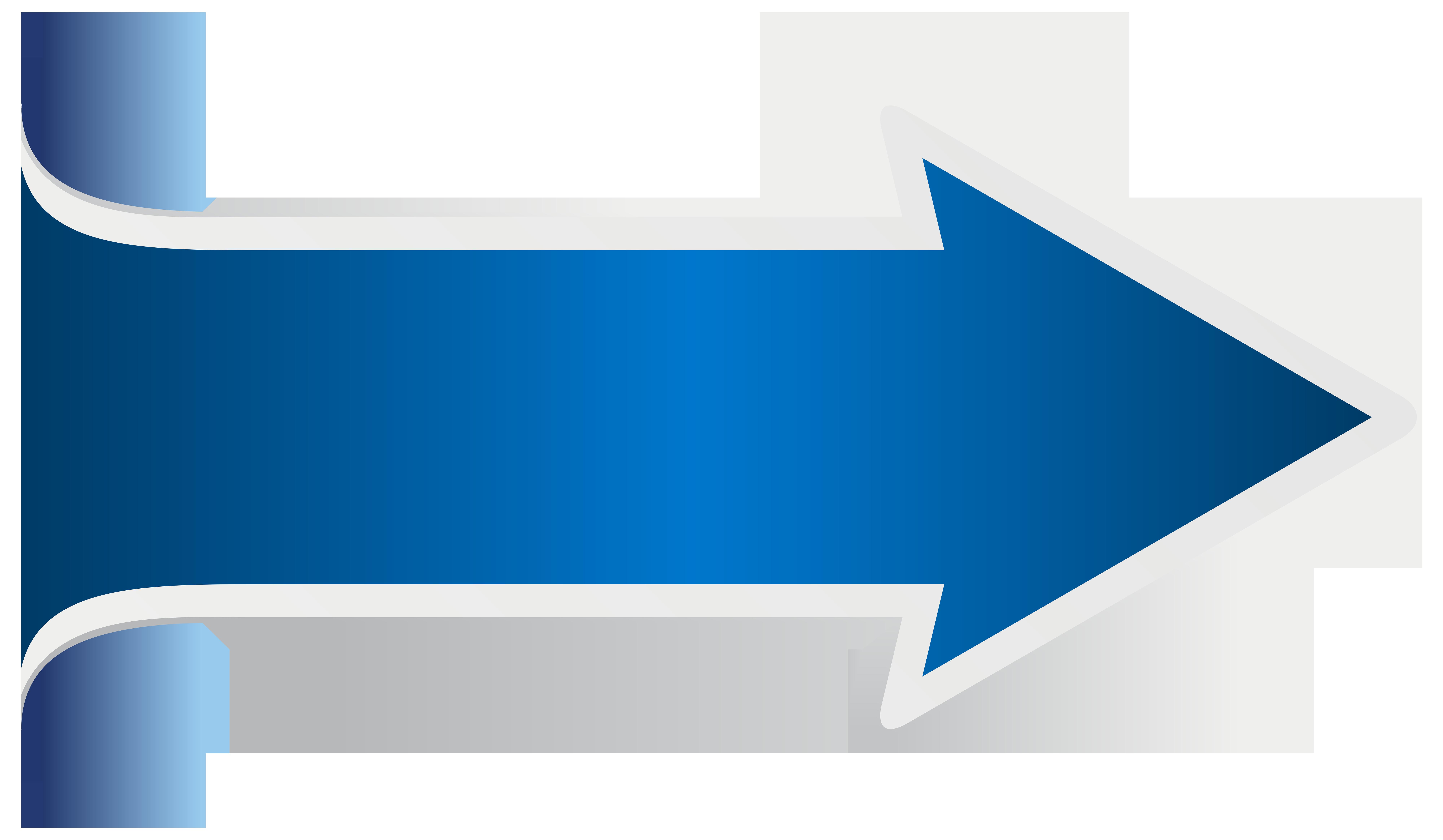 Blue Arrow PNG Clip Art Transparent Image.