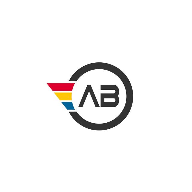 Ab Logo Design Png, Vector, PSD, and Clipart With Transparent.