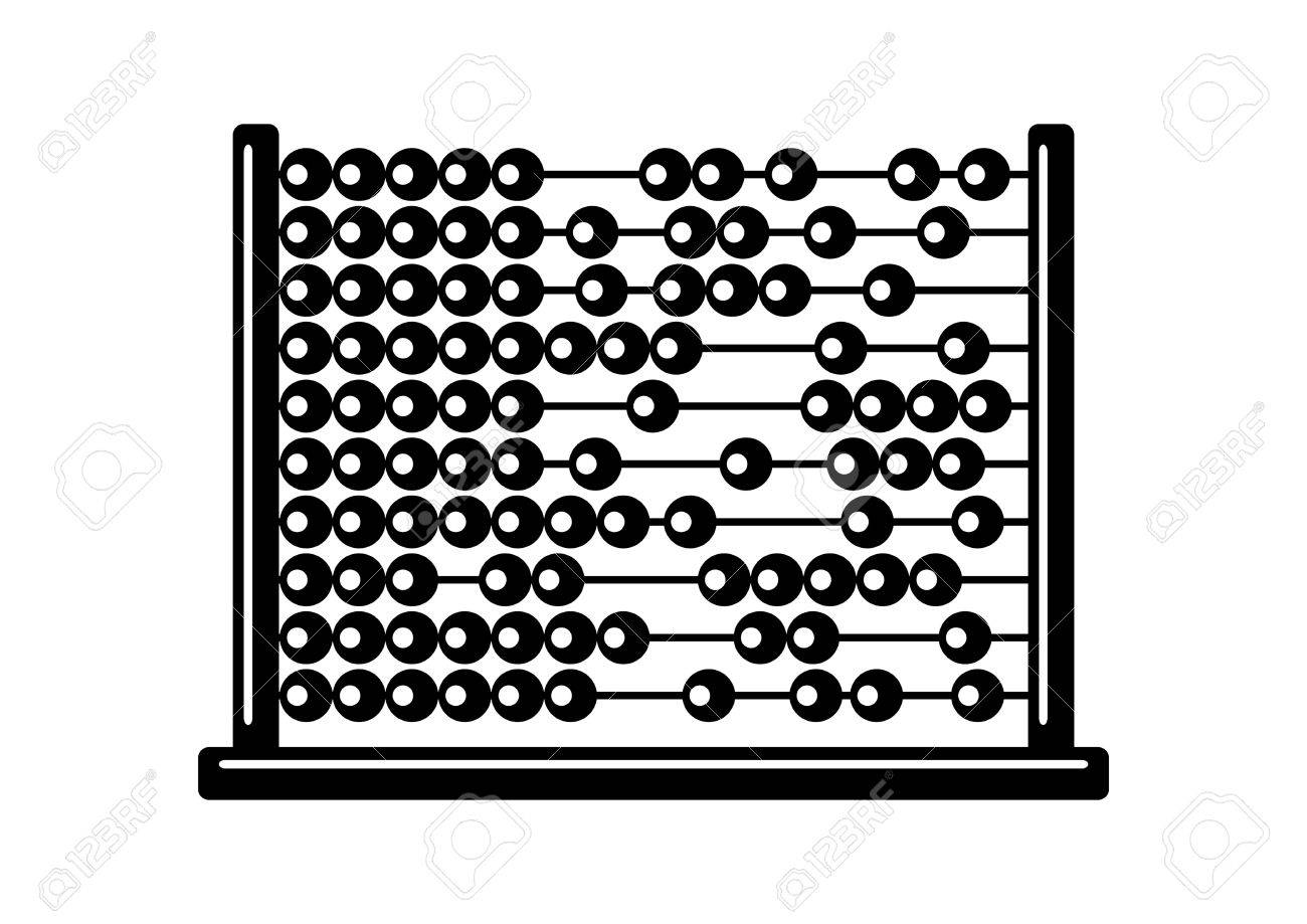 Abacus clipart black and white 6 » Clipart Station.