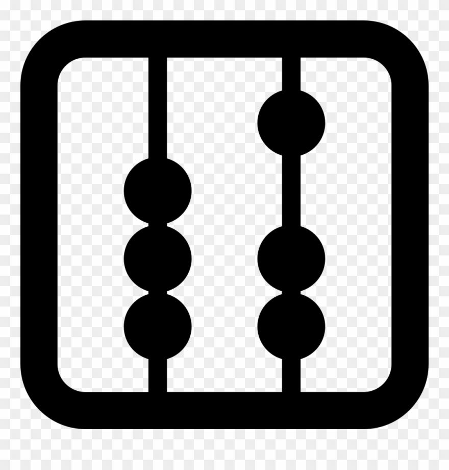 Abacus Tool Square Variant Comments Clipart (#2964159.