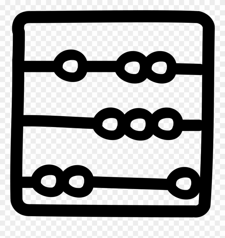 Abacus Hand Drawn Tool Comments Clipart (#2056048).