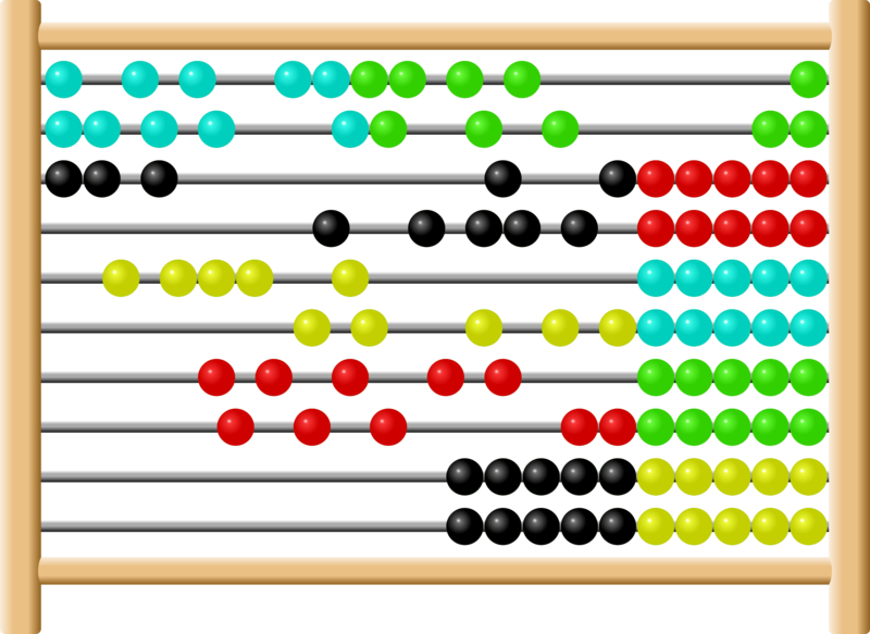 Download Free png Math Abacus Clipart.