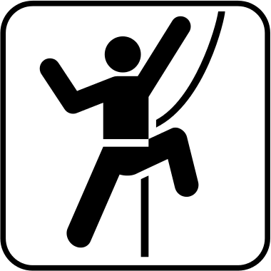 Glossary of climbing terms.