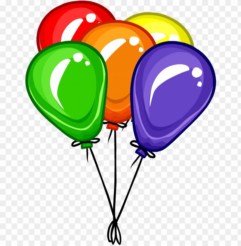 ballons transparent bunch.