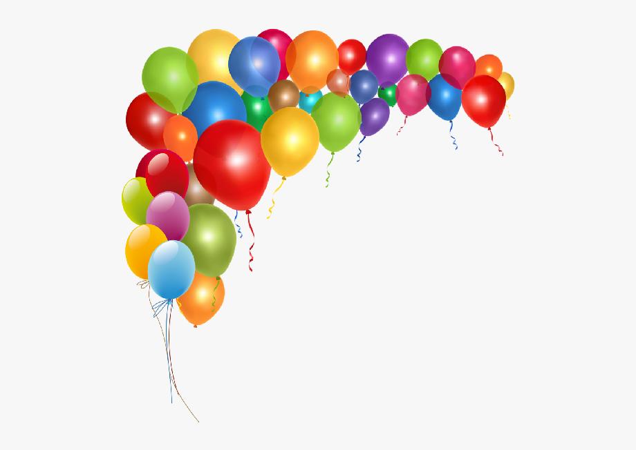 Border Clip Art Birthday Balloons Google Gift.