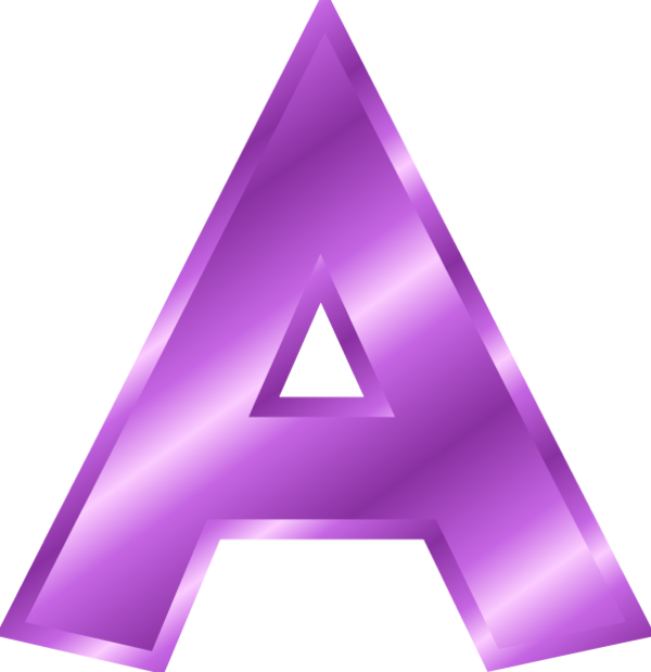 Clipart Letter A.
