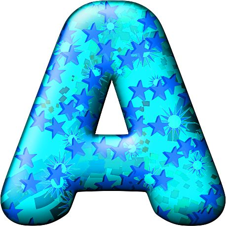 Cool Letter A Clipart.