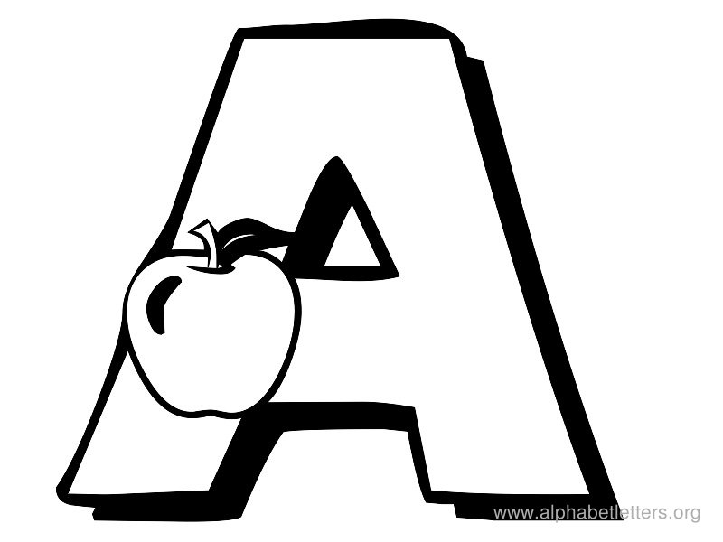 abalonwith letter a clipart #19
