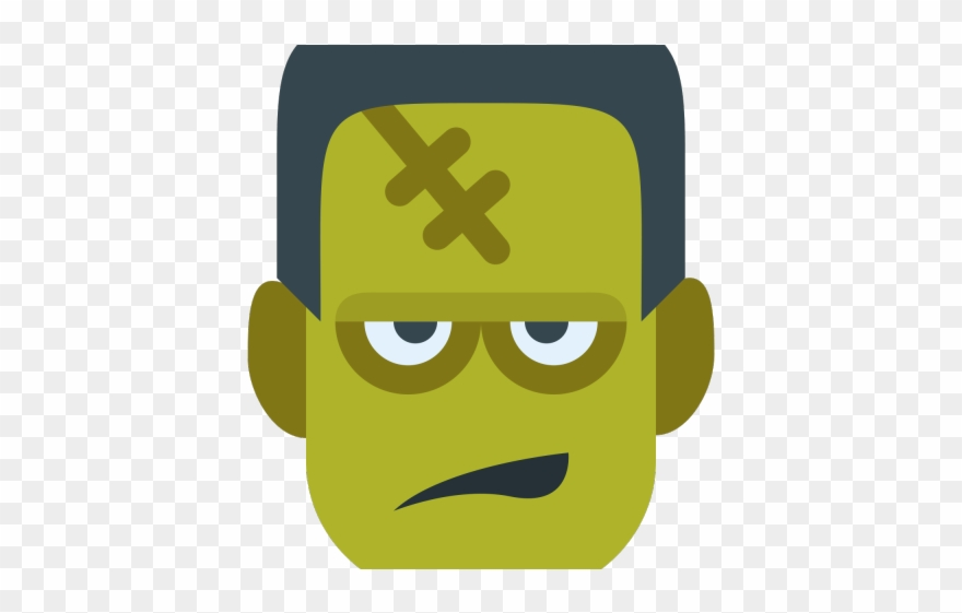 Frankenstein face clipart clipart images gallery for free.