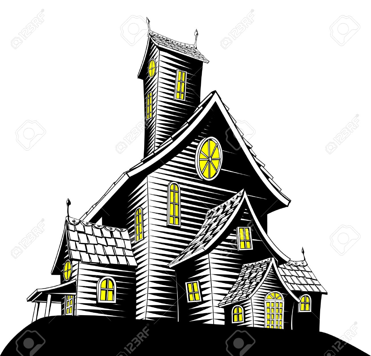 973 Abandoned House Stock Illustrations, Cliparts And Royalty Free.
