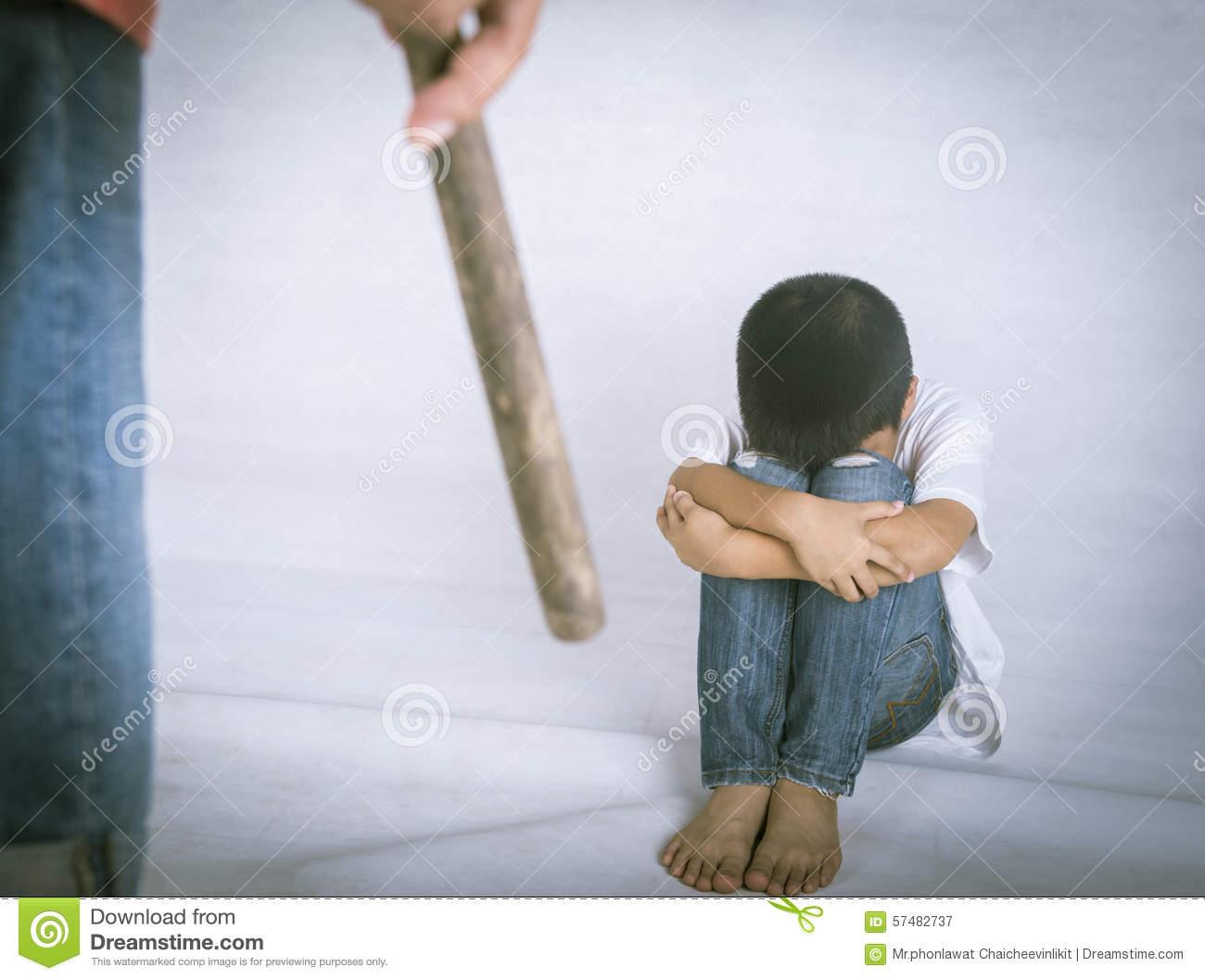 Child Assaults Stock Photo.