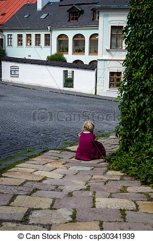 Stock Photos of lost child.