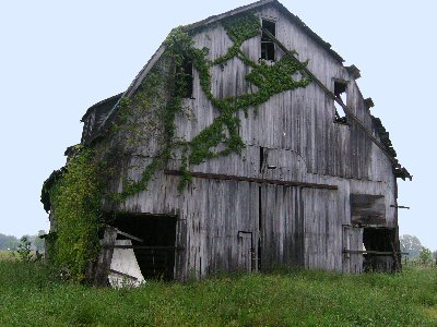 Abandoned Barn Clipart.