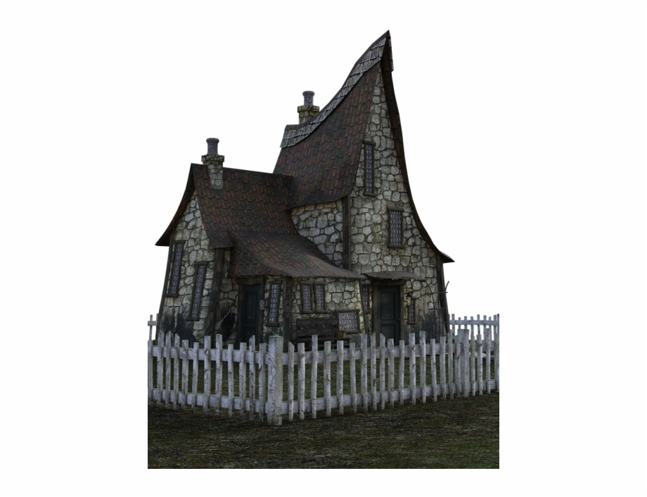 Abandoned House With Transparent Background Free PNG Images.