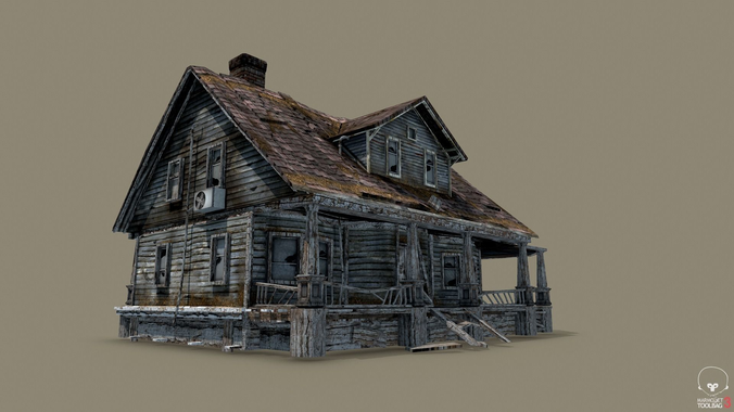 Abandoned house png 5 » PNG Image.