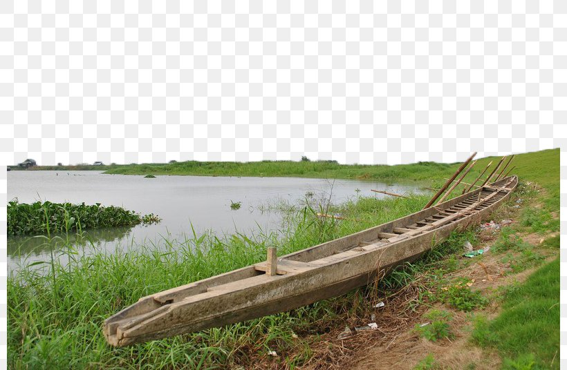 River, PNG, 800x536px, River, Bank, Boat, Grass, Grass.