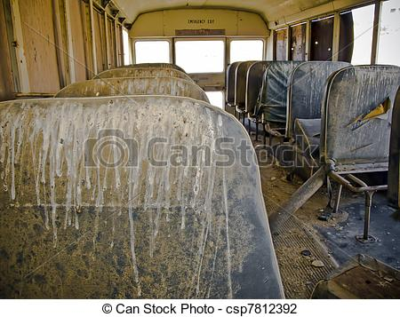 Stock Photo of School Bus.