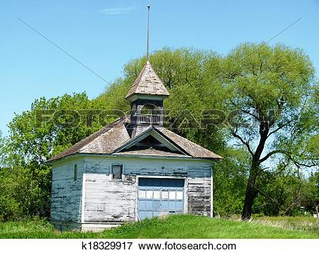 Picture of Abandoned School House k18329917.