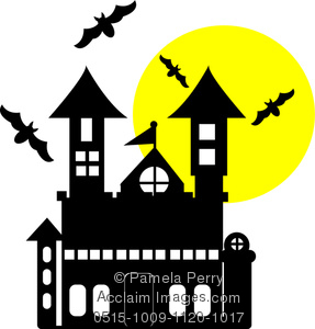 Haunted House Clip Art Images.